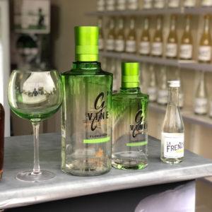 Gin Tonic 100% français - Gin G'Vine.