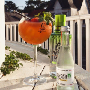 Maison Pavie - La-Baule-Escoublac - Cocktail à La française ! La French Tonic, G'Vine