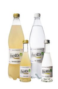 bouteilles la French s'il vous plaît bio ginger beer tonic water français