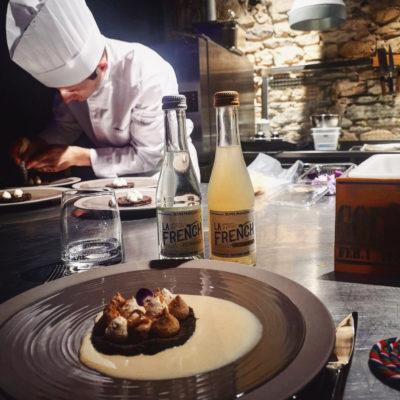 Ephemera Restaurant Paul Bocuse student La French svp partnership 100% French tonic water ginger beer organic