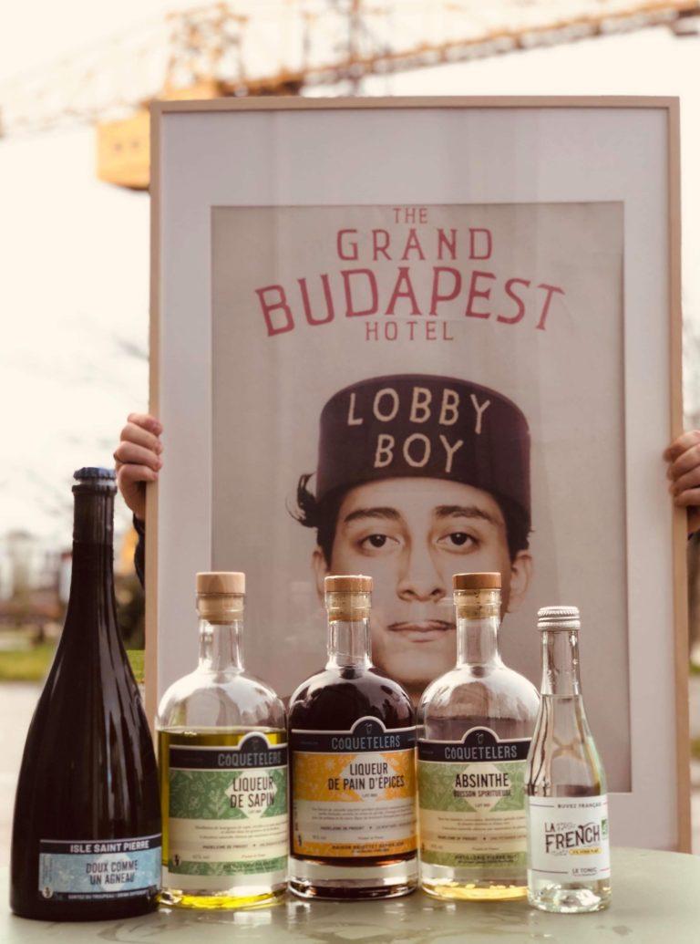 côquetelers la French svp 100% francais bio tonic water cocktail liqueur de sapin