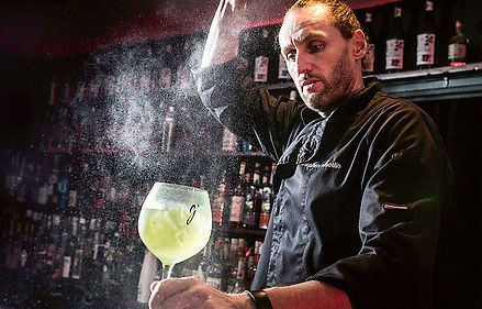 Stephen Martin cocktail français la French svp tonic bio ginger beer bio